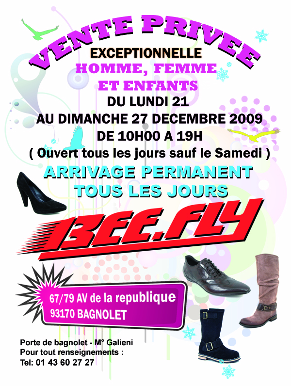 Vente Privée Beefly Paris