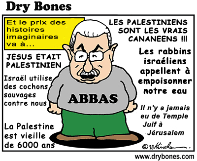 Mahmoud Abbas le clown… - © Dry Bones