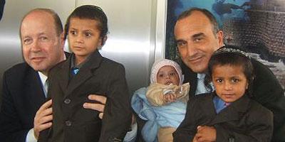 Opération secrète : arrivée d'une famille juive du Yémen en Israël