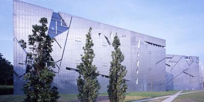 Architecture : le musée juif de Berlin